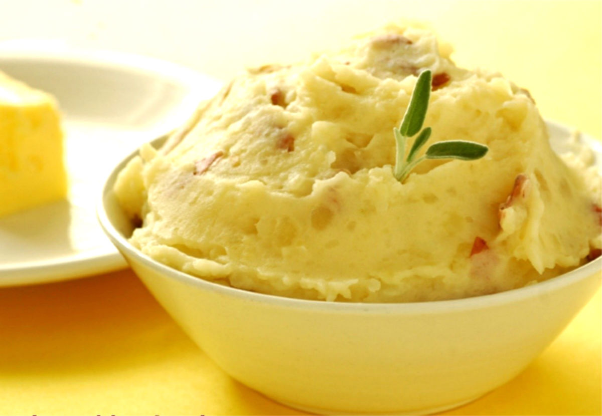 Картофельное пюре с луком рецепт