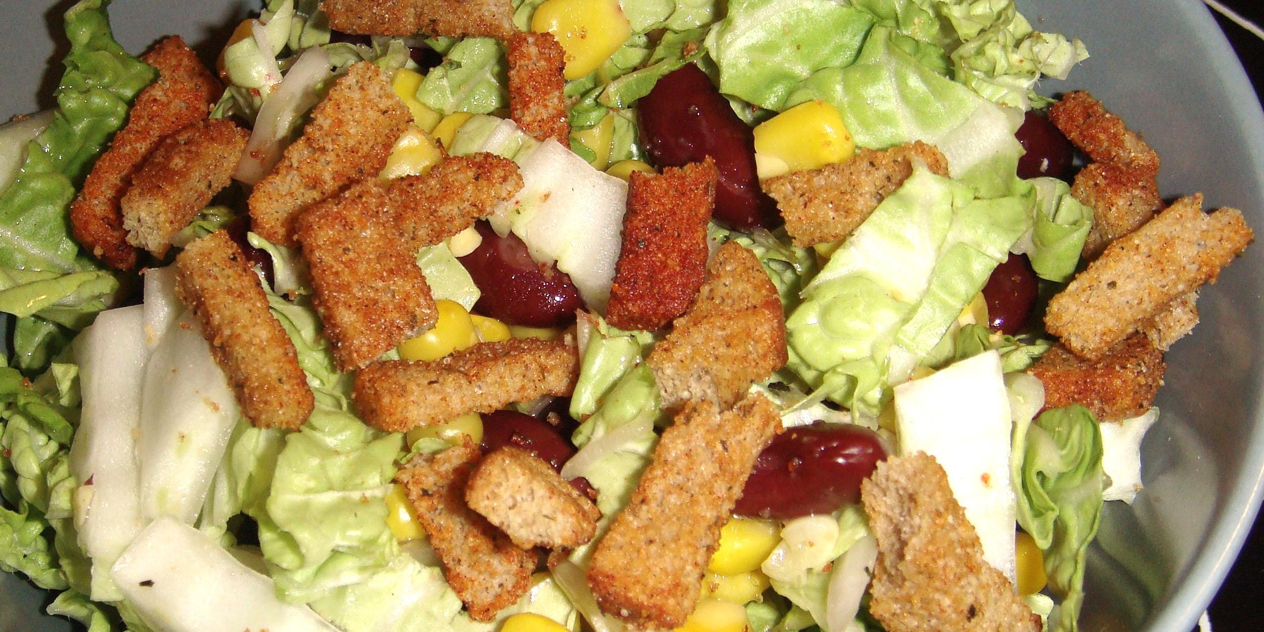 Салат с пекинской капустой и сухариками рецепт пошаговый