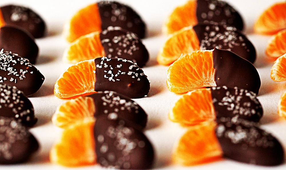 მანდარინი შოკოლადში - სწრაფი და ორიგინალური დესერტი